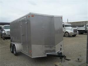 PEWTER LOOK STLC7X14TE2 SLOPE NOSE V RAMP DOOR $5999.00