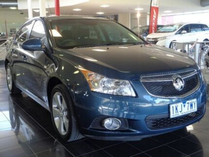 2014 Holden Cruze JH Series II MY14 Equipe Blue 6 Speed Sports Automatic Sedan Narre Warren Casey Area Preview