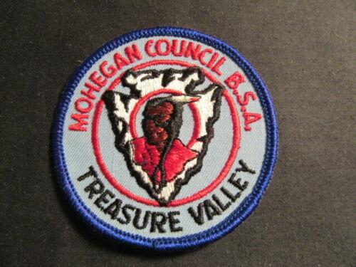 Mohegan Council Treasure Valley Twill Patch    c91