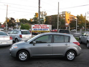 **2009 Nissan Versa 4 door**  Auto, air, Certified & E-tested