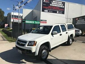 2010 Holden Colorado RC MY10.5 LX (4x2) White 4 Speed Automatic Crew Cab P/Up St Marys Penrith Area Preview