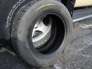"""1-Only GoodYear Nordic 185-75-14"""" Tire (Pneu) at 7/32"""