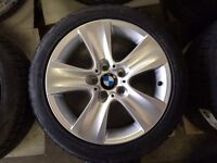 "Brand new OEM BMW 17"" winter package"