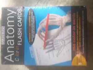 Brand new in sealed plastic Barron's Anatomy flash cards Kitchener / Waterloo Kitchener Area image 1