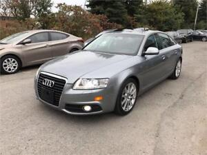 2010 Audi A6 3.0L S-LINE, Safety & ETEST for ON or QC INCL