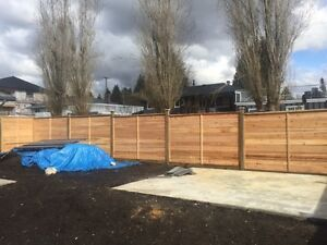 Chilliwack 10% off cedar fence installs or chain link fence
