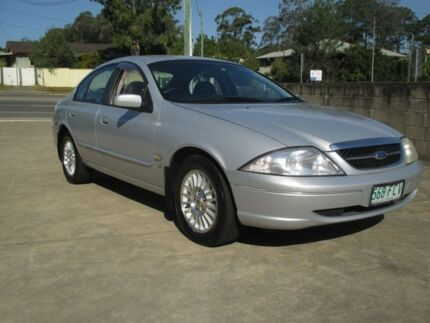 1998 Ford Fairmont AU Ghia Silver Frost Automatic Birkdale Redland Area Preview