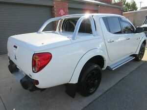 2007 Mitsubishi Triton ML GLX-R (4x4) White 5 Speed Manual 4x4 Double Cab Utility Holden Hill Tea Tree Gully Area Preview