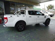 2011 Ford Ranger PX XL 2.2 HI-Rider (4x2) White 6 Speed Automatic Crewcab Hamilton Newcastle Area Preview