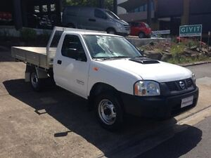 2011 Nissan Navara D22 Series 5 DX (4x2) White 5 Speed Manual Cab Chassis Bowen Hills Brisbane North East Preview