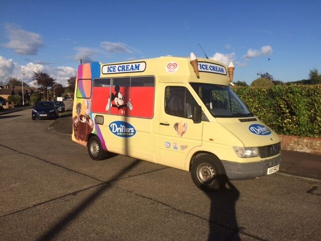 Ice Cream Van Full Whitby Morrison Conversion