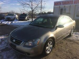 2004 NISSAN ALTIMA 2.5 - POWER OPTIONS - 4 CYLINDER - AUTOMATIC