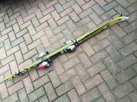 160 cm Rossignol Racing Skis and poles