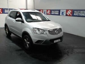 2013 Ssangyong Korando C200 MY13 S Silver 6 Speed Manual Wagon Cardiff Lake Macquarie Area Preview