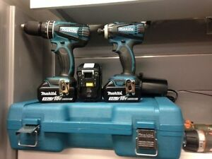 Drill Impact 18V Makita 2016 COMME NEUF seulement 289.95$!