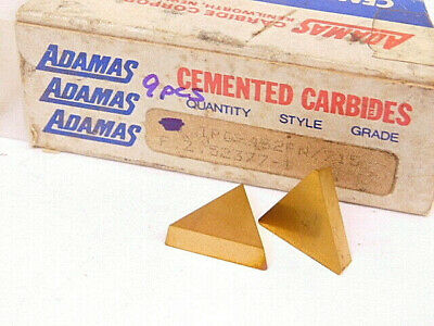 New Surplus 9pcs. Adamas Tpg 432fn Grade 715 Carbide Inserts