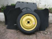 honda jazz spare wheel set of jazz carpets