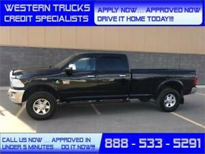 2012 Ram 3500 Laramie Diesel LongBox 4x4~ Loaded~5 min. Approval