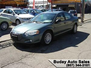 2006 CHRYSLER SEBRING TOURING EDITION