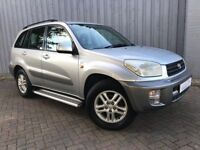 Toyota Rav 4 2.0 GX, 5 Door Edition, Four Wheel Drive, Excellent Condition for Year, Long MOT,