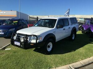 2008 Ford Ranger PJ 07 Upgrade XL (4x4) White 5 Speed Automatic Dual Cab Pick-up Wangara Wanneroo Area Preview