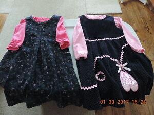 Girl's Size 6 Winter Dresses