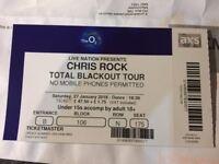 Chris Rock Tickets 27th January 2018 London O2