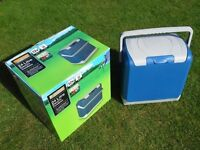 Halfords Camping Fridge / Coolbox Cooler Halfords 24 litre 12v - As Brand New with Box