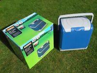 Halfords Camping Fridge / Coolbox Cooler Halfords 24 litre 12v
