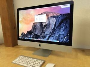 Apple Imac late 2013 model, 27 inch excellent condition