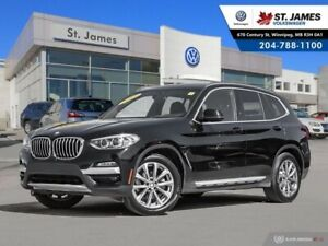 2019 BMW X3 xDrive30i PANORAMIC SUNROOF, HEATED SEATS, AWD