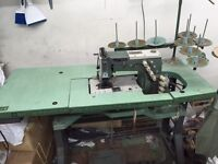 Industrial Sewing Machine - Kansai  Elastic/Plaquettes Must see