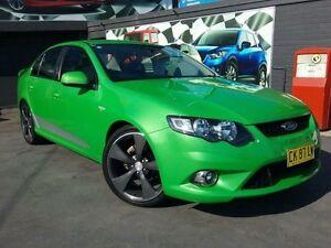 2010 Ford Falcon FG XR6 Green 5 Speed Auto Seq Sportshift Sedan Greenacre Bankstown Area Preview