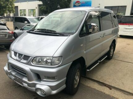 2006 Mitsubishi Delica HR ACtiveField Silver 4 Speed Automatic Wagon Kogarah Rockdale Area Preview