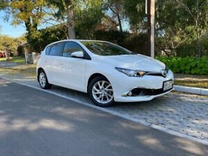 2017 Toyota Corolla ZRE182R Ascent S-CVT White 7 Speed Constant Variable Hatchback Hawthorn Mitcham Area Preview