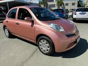 2010 Nissan Micra K12 Pink 4 Speed Automatic Hatchback Southport Gold Coast City Preview