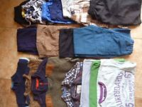 3 Boys Clothing Bundles 7-8, 9-10, 10-11