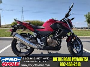 SAVE BIG 2017 Honda CB300F $25/Week OTR