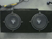 Speaker subwoofer Clarion power amplifier Haut parleur gros