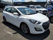2013 Hyundai i30 GD Active Tourer White 6 Speed Sports Automatic Wagon Slacks Creek Logan Area Preview