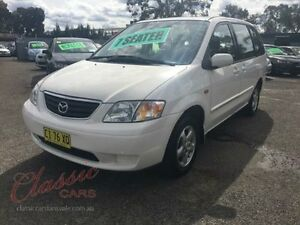 2000 Mazda MPV LW White 4 Speed Automatic Wagon Lansvale Liverpool Area Preview