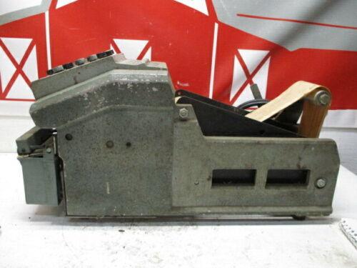 USED ELECTRIC MARSH 4BT TOUCH-TAPER GUMMED PAPER TAPE DISPENSER