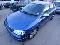 Vauxhall Astra Bonnet In Blue Code: 20Q Breaking For Parts