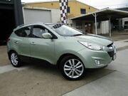 2010 Hyundai ix35 LM Highlander AWD Green 6 Speed Sports Automatic Wagon Moorooka Brisbane South West Preview