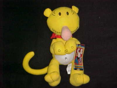 """11"""" Jeep Eugene Plush Doll With Tags From Popeye By Kellytoy 2007"""
