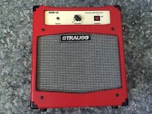 STRAUSS 10WATT HAND WIRED GUITAR COMBO VALVE AMP, FENDER MARSHALL Kuraby Brisbane South West Preview