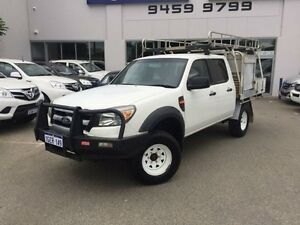 2010 Ford Ranger PK XL (4x4) White 5 Speed Automatic Dual Cab Pick-up Beckenham Gosnells Area Preview