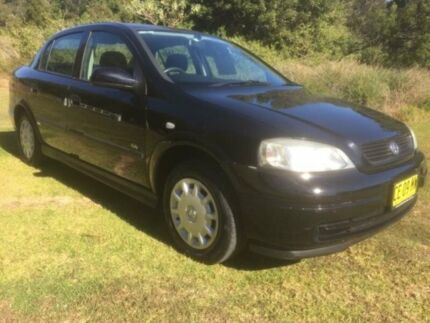2003 Holden Astra TS City Black 4 Speed Automatic Sedan Mardi Wyong Area Preview