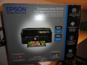 Epson Expression XP-310 Color All-In-One AIO Printer, Wi-Fi, USB