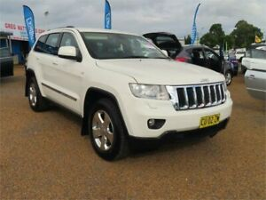 2012 Jeep Grand Cherokee WK MY2012 Laredo White 5 Speed Sports Automatic Wagon Minchinbury Blacktown Area Preview